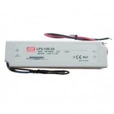 Блок питания 100 Ватт 24 V IP67 (LPV-100-24)