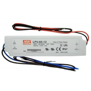Блок питания 60 Ватт 12 V IP67 (LPV-60-12)