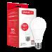 Светодиодная LED лампа MAXUS A65 12W яркий свет E27 1-LED-564-P