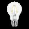 Светодиодная LED лампа MAXUS филамент А60 8W мягкий светE27 1-LED-565