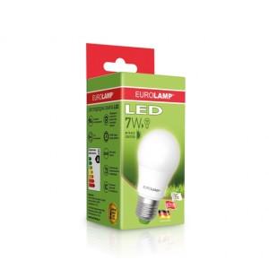 Светодиодная лампа LED ЕКО А50 7W E27 3000K