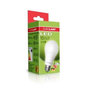 Светодиодная лампа LED ЕКО А60 10W E27 4000K