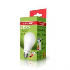 Светодиодная лампа LED ЕКО А60 12W E27 3000K