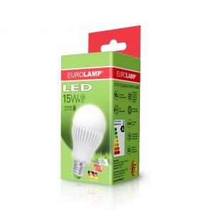 Светодиодная лампа LED ЕКО А65 15W E27 4000K