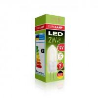 Светодиодная лампа LED капсульна Plastic G4 2W G4 12V 3000K