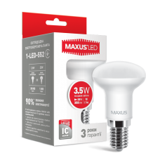 Светодиодная LED лампа MAXUS R39 3.5W яркий свет E14 1-LED-552
