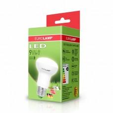 Светодиодная лампа LED ЕКО R63 9W E27 3000K