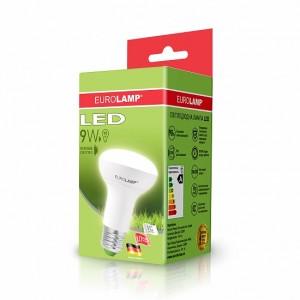 Светодиодная лампа LED ЕКО R63 9W E27 4000K