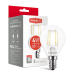 Светодиодная LED лампа MAXUS G45 FM 4W теплый свет E14 1-LED-547-01