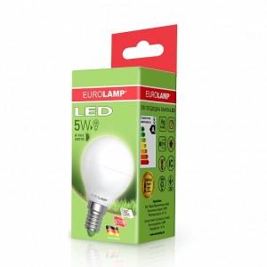 Светодиодная лампа LED ЕКО G45 5W E14 3000K
