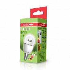 Светодиодная лампа LED ЕКО G45 прозрачная 5W E14 3000K