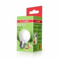 Светодиодная лампа LED ЕКО G45 5W E27 3000K