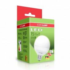 Светодиодная лампа LED ЕКО G95 15W E27 4000K