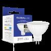 Светодиодная LED лампа GLOBAL MR16 3W мягкий свет 220V GU5.3 1-GBL-111