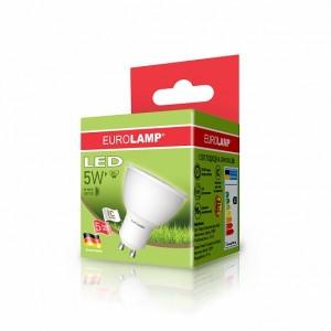 Светодиодная лампа LED ЕКО SMD MR16 5W GU10 3000K