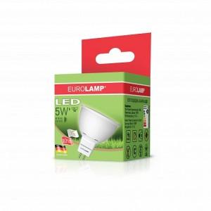 Светодиодная лампа LED ЕКО SMD MR16 5W GU5.3 3000K