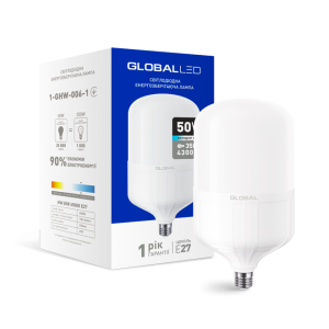 Светодиодная LED лампа HW GLOBAL 50W 6500K E27 1-GHW-006-1
