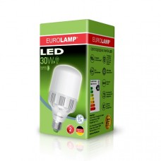 Светодиодная лампа высокомощная LED 30W E27 6500K
