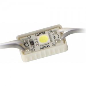 Светодиодный модуль LED SMD 5050, 1 светодиод, IP65 (влагозащ.), синий