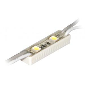 Светодиодный модуль LED SMD 3528, 2 светодиода, IP65 (влагозащ.), белый