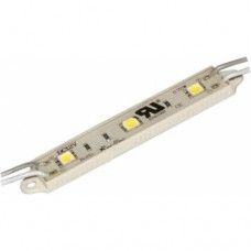 Светодиодный модуль LED SMD 5050, 3 светодиода, IP65 (влагозащ.), желтый
