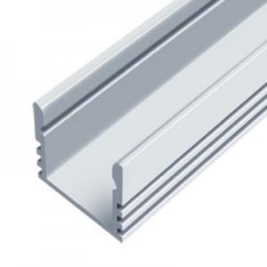 Алюминиевый профиль для светодиодной ленты ЛП12