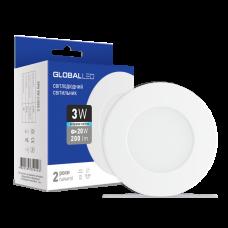 Светильник светодиодный GLOBAL LED SPN 3W яркий свет 1-SPN-002
