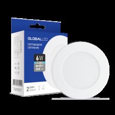 Светильник светодиодный GLOBAL LED SPN 6W яркий свет 1-SPN-004