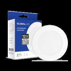 Светильник светодиодный GLOBAL LED SPN 12W мягкий свет 1-SPN-007