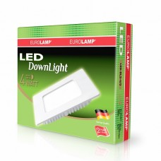 Светильник светодиодный  LED Panel (квадр.) 4W 3000K