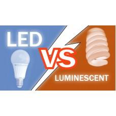 Что лучше люминесцентные или светодиодные лампы?